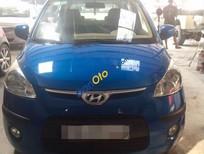 Bán Hyundai i10 1.2AT đời 2010, màu xanh lam, nhập khẩu chính hãng còn mới