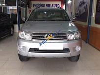 Cần bán xe Toyota Fortuner 2.7V 4x4AT 2011, màu bạc số tự động