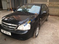 Bán xe Daewoo Lacetti EX đời 2010, màu đen xe gia đình