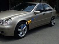 Cần bán lại xe Mercedes C180 đời 2001, màu vàng, nhập khẩu chính hãng