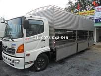 Bán xe tải Hino FC9JLSW tải trọng 6 tấn dùng chở gia súc, chở Heo