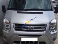 Cần bán Ford Transit Luxury sản xuất 2014, màu bạc còn mới, giá tốt