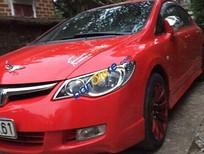Cần bán lại xe Honda Civic 1.8 MT đời 2007, màu đỏ