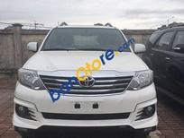 Cần bán Toyota Fortuner 2.7V Sportivo AT đời 2016, màu trắng