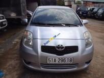 Cần bán xe Toyota Yaris 1.3 AT đời 2008, màu bạc