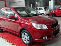 Bán ô tô Chevrolet Aveo 1.5 LT đời 2016, màu đỏ