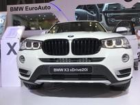 Cần bán xe BMW X3 phiên bản 2017 mới, bán xe BMW X3 2017 giá rẻ nhất, mua xe BMW X3 nhập khểu 2017 mới