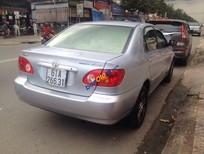 Bán Toyota Corolla Altis 1.8G đời 2002, màu bạc, giá 365tr