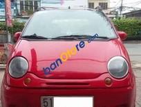 Cần bán Daewoo Matiz MT đời 2007, màu đỏ số sàn, giá 137tr