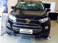 Bán xe Ford EcoSport 1.5L Titanium năm 2016, màu đen, 610 triệu