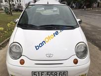 Bán Daewoo Matiz MT đời 2007, màu trắng, giá chỉ 155 triệu