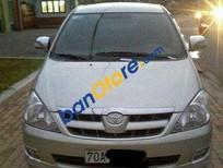 Cần bán xe Toyota Innova MT đời 2006, màu bạc số sàn