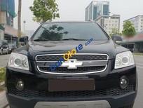 Cần bán Chevrolet Captiva LT đời 2009, màu đen