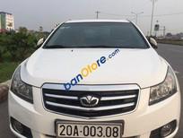 Cần bán Daewoo Lacetti sedan đời 2011, màu trắng