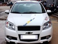 Cần bán Chevrolet Aveo LT 1.5MT đời 2014, màu trắng số sàn