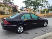 Cần bán lại xe Mercedes C180 2004, màu đen số tự động, giá tốt