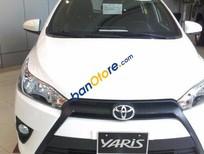 Bán Toyota Yaris 1.3E đời 2016, màu trắng, 607 triệu