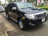 Bán Toyota Hilux đời 2012, màu đen, xe nhập