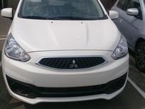 Bán xe Mitsubishi Mirage MT, màu trắng, xe nhập, giá 378 tr giá rẻ. LH: Đông Anh 0931911444