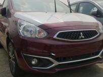 Bán xe Mitsubishi Mirage, màu đỏ rượu vang, nhập khẩu chính hãng giá 350 tr - Liên hệ: Đông Anh 0931911444