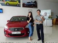 Cần bán Mitsubishi Attrage đời 2019, màu đỏ, xe nhập, góp 80%