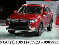 Bán Mitsubishi Outlander đời 2016, màu đỏ, xe nhập