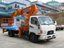 Bán xe tải Hyundai 3,5 tấn HD72 gắn cẩu DHS250, giao ngay, giá rẻ nhất
