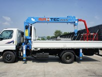 Bán xe tải Hyundai HD72 gắn cẩu Mirtec JS315 tự hành sức nâng cao 3.5 tấn