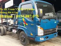 Bán xe tải Veam 2.4 tấn (2t4) Vt252-1 thùng dài 4.1 mét đi vào thành phố giá tốt nhất