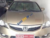 Cần bán xe Honda Civic 1.8 AT đời 2009, màu vàng