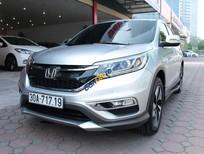 Bán xe cũ Honda CR V 2.4AT đời 2015, màu bạc số tự động