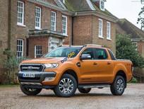 Cần bán Ford Ranger đời 2017, màu cam, trắng, xám, đen nhập khẩu, giá tốt
