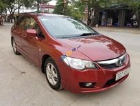 Bán ô tô Honda Civic 1.8 đời 2008, màu đỏ chính chủ, 450tr