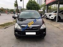 Cần bán Toyota Innova 2.0G đời 2006, màu đen số sàn, 425tr