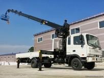 Chuyên bán xe tải Hyundai 5 tấn hỗ trợ trả góp – Hyundai HD120 tải gắn cẩu Unic V340