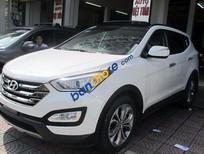 Bán xe Hyundai Santa Fe CRDi đời 2014, màu trắng số tự động