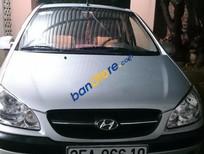 Cần bán xe cũ Hyundai Getz MT năm 2010, màu bạc