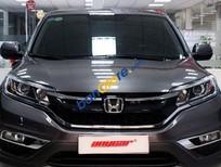 Bán Honda CR V 2.4AT đời 2015, màu xám chính chủ