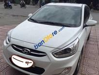 Cần bán gấp Hyundai Accent AT đời 2015, màu trắng, giá 555tr