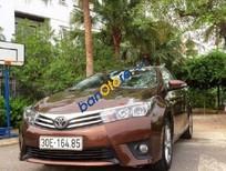 Bán xe cũ Toyota Corolla Altis AT đời 2015, màu nâu số tự động, 786tr