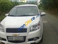 Bán Chevrolet Aveo MT đời 2014, màu trắng