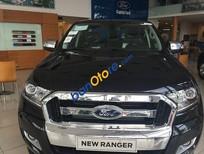 Bán Ford Ranger XLT 4x4 MT đời 2016, màu đen, xe nhập, giá chỉ 740 triệu