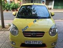 Bán ô tô Kia Morning LX đời 2010, màu vàng, giá tốt