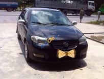 Cần bán lại xe Toyota Vios đời 2005, màu đen, giá tốt