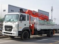 Bảng giá xe Hyundai tải gắn cẩu Kanglim HD170 tải trọng 6 tấn, mới 100%