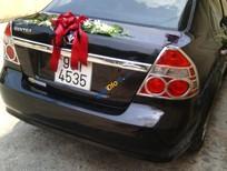 Bán Daewoo Gentra đời 2008, màu đen