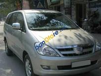 Bán xe cũ Toyota Innova J đời 2008, màu bạc số sàn