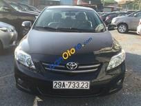 Bán Toyota Corolla altis 1.8 đời 2008, màu đen