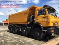 Bán Kamaz Ben 6540 thùng Ovan, 260 mã lực, tăng áp, 2 cầu thực, 14 khối