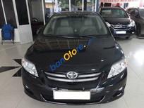 Bán xe cũ Toyota Corolla altis AT 2009, màu đen số tự động, giá 585tr